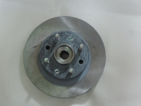 Тормозной диск+ступица Авео со шпильками (оригинал)