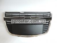 Решетка радиатора Эпика 07- (черная) с накладкой номера 01-16-005
