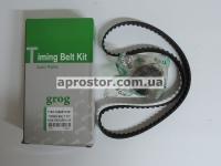 Комплект ГРМ (ремень + ролик) Сенс/Таврия GROG Корея 1102-100601180
