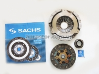 Набор (комплект) сцепления полный Ланос 1,4 (корзина+диск+выжимной) SACHS 3000951411