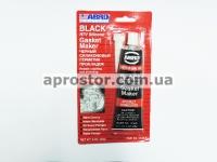 Герметик прокладки силиконовый для двигателя черный 85г 355680