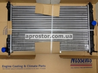 Радиатор основной Ланос 1.5i/1.6i А/С под кондиционер (NISSENS) 61654/96182261