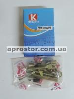 Рем комплект задних тормозных колодок Ланос/Сенс/Нексия/Нубира/Эсперо (KS) левый (полный) 90199718