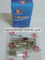 Рем комплект задних тормозных колодок Ланос/Сенс/Нексия/Нубира/Эсперо (KS) правый (полный) 90199719