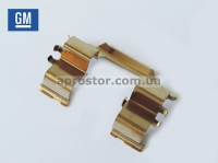 Пружинка суппорта (передних тормозных колодок) Авео (GM) 93740553