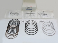 Кольца поршневые (комплект) Лачетти 1,8 LDA (KOBIS) +0,25 93742701