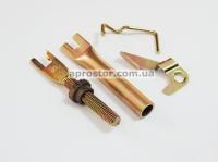 Рем комплект задних тормозных колодок Матиз/ Тико/ CHERY QQ Корея (оригинал) правый 94580432/94580434