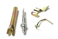 Рем комплект задних тормозных колодок Матиз(полный)левый 94580433
