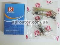Рем комплект задних тормозных колодок Матиз/ CHERY QQ KS (полный) левый 94580433