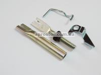 Рем комплект задних тормозных колодок Матиз/ Тико/ CHERY QQ Корея (оригинал) левый 94580433
