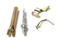Рем комплект задних тормозных колодок Матиз(полный)правый 94580434
