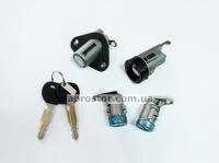 Комплект личинок дверей, багажника + замок зажигания Ланос (седан) 96213542