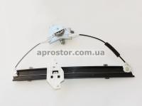 Стеклоподъемник электрический Ланос передний левый (механизм под крест) DAEDONG (Корея) 96225383