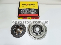 Набор (комплект) сцепления Ланос 1,5,Нексия (SOHC) (корзина+диск сцепления) 96232994+96343035