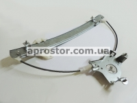 Стеклоподъемник электрический Нубира (механизм) под крест передний левый 96247388