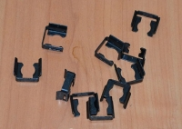 Скоба крепления форсунки Ланос/Леганза/Такума (GM) под форсунку нового образца 96253530