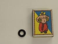 Кольцо уплотнительное форсунки Матиз/Лачетти (KAP) черное 96253597