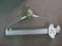 Стеклоподъемник механический Ланос(механизм)задний левый 96304132