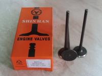 Клапана Матиз 0,8 выпускные (к-т 3шт) SHINHAN 96352793
