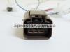 Датчик уровня топлива Ланос (+датчик на лампочку) в сборе (KMC) 96388928