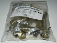 Рем комплект задних тормозных колодок Авео(полный)левый 96456494