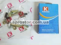 Рем комплект задних тормозных колодок Авео KS (полный) правый 96456495