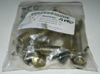 Рем комплект задних тормозных колодок Авео(полный)правый 96456495
