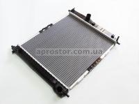 Радиатор основной Авео 480mm алюминиево паяный (SHINKUM) МКПП 96533475