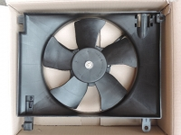 Вентилятор Авео T200,T250 основной без кондиционера (NS MOTOR) в сборе 96536522