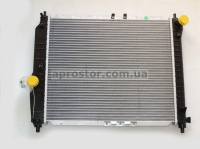 Радиатор основной Авео 480mm МКПП (Van Wezel) 96536523/81002066