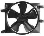Вентилятор (диффузор) вспомогательный (в сборе) оригинал Лачетти 1,6-1,8 96553241