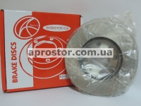 Тормозной диск передний 13` Авео (Польша) 96574633/BD-CH0010F