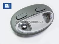 Плафон освещения салона Лачетти передний (GM) в сборе 96615323