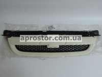 Решетка радиатора Авео 3, Вида Т-250 под покраску grog Корея 96648621/96648529