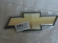 Эмблема-крест Авео-3 (оригинал) багажника с черной окантовкой 96648743