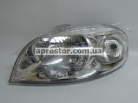 Фара Авео-3 (Т-250) 06-седан (электрическая) левая 96650521
