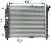 Радиатор основной Авео (HCC) 96816481/96817345/96536523 АКЦИОННАЯ ЦЕНА