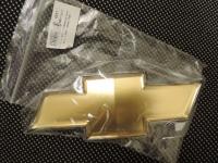 Эмблема-крест Авео-3 (оригинал) багажника с белой окантовкой 96985011