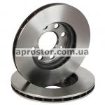 Тормозной диск передний 13' Ланос/Сенс/Нексия 1,5 90121445/BD-DW0010F