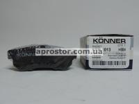 Тормозная колодка задняя Лачетти 07- нового образца Konner Корея KPR-1013