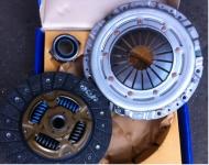 Набор (комплект) сцепления (полный) Матиз 0,8/Тико (корзина+диск+выжимной) VALEO DWK-029