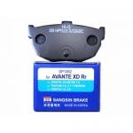 Тормозная колодка задняя Cerato 04-09/ Elantra -06/ Avante (Корея) SP1062