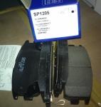 Тормозная колодка задняя Каптива (Корея) SP1205