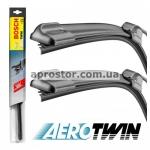 Щетки стеклоочистителя (дворники к-кт 550+400 мм) бескаркасные Bosch Aerotwin 3397118984/ AR552S