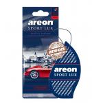 Areon Lux SPORT освежитель воздуха парус картонный CHROME (блистер)