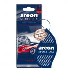 Areon Lux SPORT освежитель воздуха парус картонный CARBON (блистер)