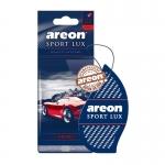 Areon Lux SPORT освежитель воздуха парус картонный NICKEL (блистер)