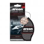 Areon Lux SPORT освежитель воздуха парус картонный SILVER (блистер)