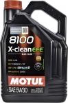 Масло моторное MOTUL 8100 X-CLEAN EFE 5W-30 dexos2 5L