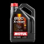 Масло моторное MOTUL 8100 X-CLEAN 5W-40 dexos2 4L